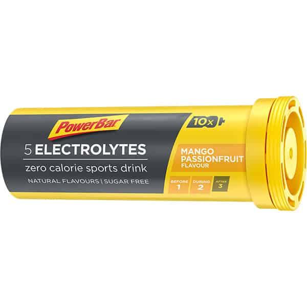 5 Electrolytes Tabs Mango Passionfruit