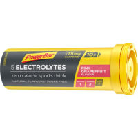PowerBar Electrolyte Tabs – Pink Grapefruit met 75 mg cafeine (10 Tabletten)