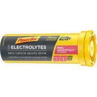 PowerBar Electrolyte Tabs – Pink Grapefruit met 75 mg cafeine (10 Tabletten)
