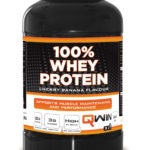 Qwin – 100% Whey Protein – Cherry Banana (2400 gram/85 servings)