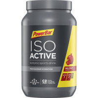 PowerBar Isoactive – Red Fruit Punch (met framboos en granaatappel,600 gram)