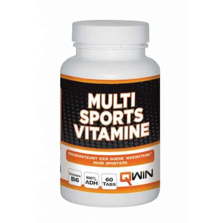 qwin multi sports vitamine 60 tabs